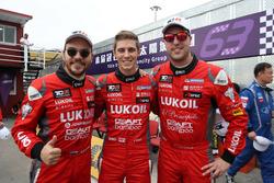 Sergey Afanasyev, Craft Bamboo Racing, SEAT León SEQ; James Nash, Craft Bamboo Racing, SEAT León SEQ