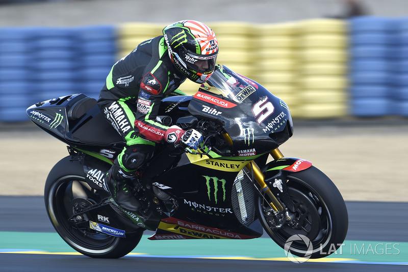 Johann Zarco escapou da eliminação no Q1 na última volta e surgiu no Q2 para conquistar o terceiro posto, a menos de 0s3 de Viñales.
