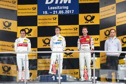 Podio: Ganador de la carrera Lucas Auer, Mercedes-AMG Team HWA, Mercedes-AMG C63 DTM, segundo lugar