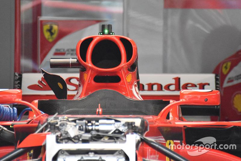 Ferrari intake detail