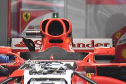 Ferrari SF70H: Airbox