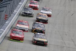 Ty Dillon, Richard Childress Racing Chevrolet, Ross Chastain, JD Motorsports Chevrolet