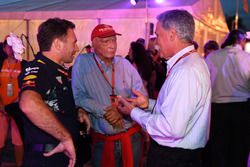 Chase Carey, Director Ejecutivo y Presidente Ejecutivo de la Formula One Group, Niki Lauda, Mercedes