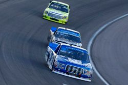 Austin Cindric, Brad Keselowski Racing Ford and John Hunter Nemechek, SWM-NEMCO Motorsports Chevrole
