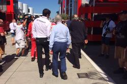 Sergio Marchionne, Presidente Ferrari e CEO di Fiat Chrysler Automobiles, Toto Wolff, Toto Wolff, Di