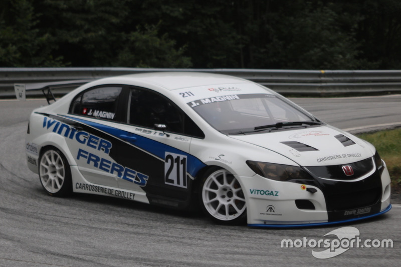 Jonas Magnin, Honda Civic, Ecurie Sporting de Romont