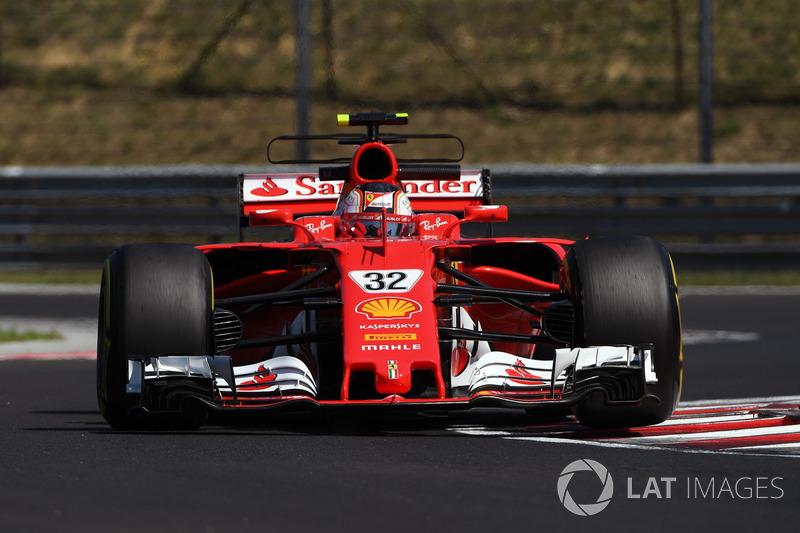Шарль Леклер (пилот по развитию Ferrari в 2016-2017 годах)