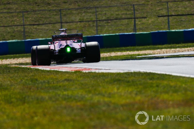 Nikita Mazepin, Sahara Force India F1 VJM10