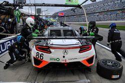 #86 Michael Shank Racing Acura NSX: Oswaldo Negri Jr., Jeff Segal, Tom Dyer, Ryan Hunter-Reay