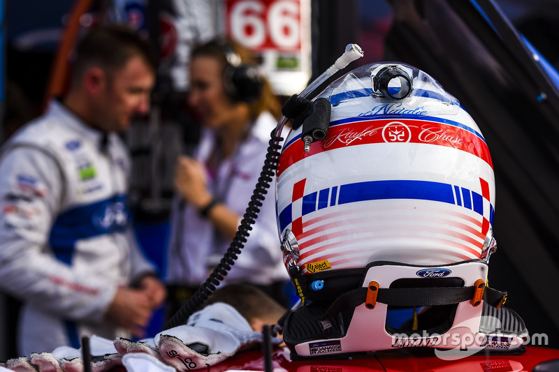 Polesitter GTLM: Joey Hand, Ford Performance Chip Ganassi Racing