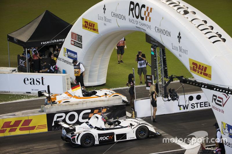 Pascal Wehrlein y Petter Solberg, se preparan para la carrera Radical SR3 RSX