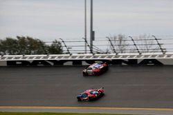 #66 Ford Performance Chip Ganassi Racing Ford GT: Joey Hand, Dirk Müller, Sébastien Bourdais; #57 St