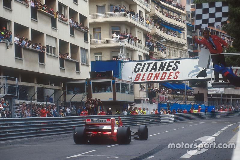 5. GP de Mónaco 1992