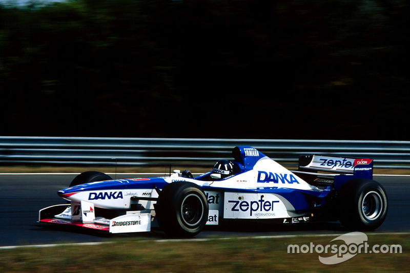 Damon Hill, Arrows A18