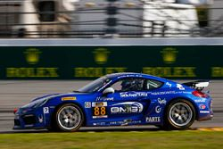 #88 GMG Racing, Porsche Cayman GT4 MR: Carter Yeung, Andy Lee, Alec Udell