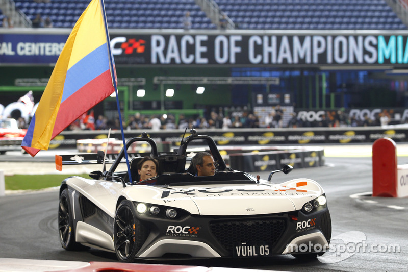Gabby Chaves y Juan Pablo Montoya, Team Colombia