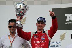 Podium: Hugo Valente, Lukoil Craft-Bamboo Racing, SEAT León TCR