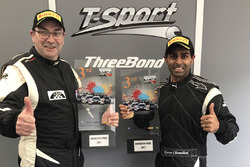 Third place Steve Tandy, Karun Chandhok, T-Sport Racing