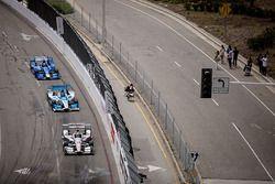Will Power, Team Penske, Chevrolet; Marco Andretti, Andretti Autosport, Honda; Tony Kanaan, Chip Gan