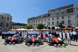 #7 Toyota Gazoo Racing Toyota TS050 Hybrid: Mike Conway, Kamui Kobayashi, Stéphane Sarrazin, #8 Toyo