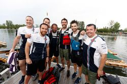 Floßrennen in Montreal: Williams