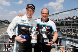 Thed Björk, Polestar Cyan Racing, Volvo S60 Polestar TC1 and Fredrik Wahlen, Team manager Polestar C