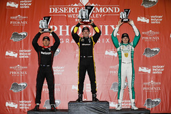 Podium: 1. Simon Pagenaud, Team Penske Chevrolet; 2. Will Power, Team Penske, Chevrolet; 3. J.R. Hil