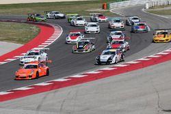 Tutte le Porsche 91 GT3 Cup a Misano