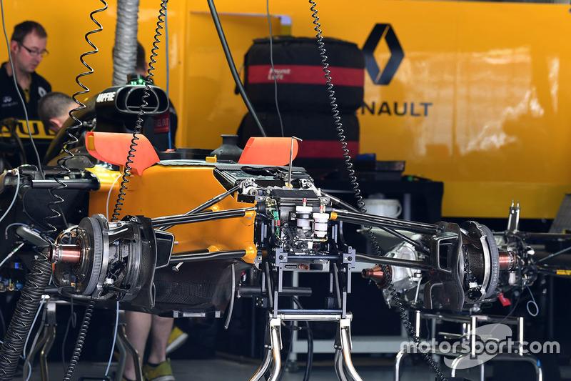 Шасі і передні гальма Renault Sport F1 Team RS17