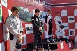 Il podio di Gara 3