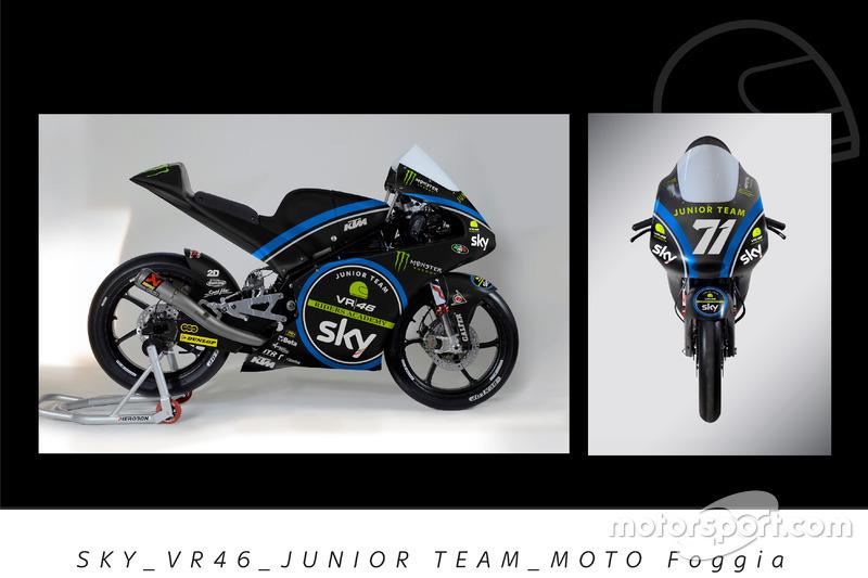 Dennis Foggia, Sky VR46 Junior Team