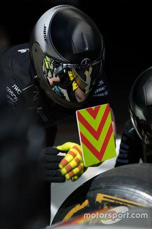 Mercedes AMG F1 mechanic