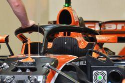 McLaren MCL32 avec le Halo