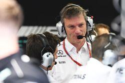 James Allison, Mercedes AMG F1 Technisch directeur en Toto Wolff, Mercedes AMG F1 Directeur