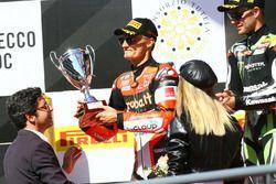 Podio: Chaz Davies, Ducati Team
