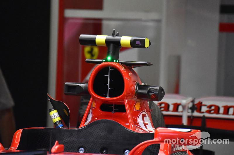 Ferrari SF70H, air box