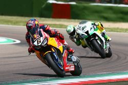 Stefan Bradl, Honda World Superbike Team; Roman Ramos, Team Go Eleven