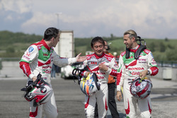 Tiago Monteiro, Honda Racing Team JAS, Honda Civic WTCC, Ryo Michigami, Honda Racing Team JAS, Honda Civic WTCC, Norbert Michelisz, Honda Racing Team JAS, Honda Civic WTCC