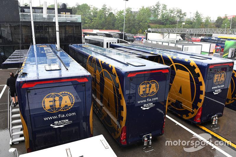 Грузовики FIA