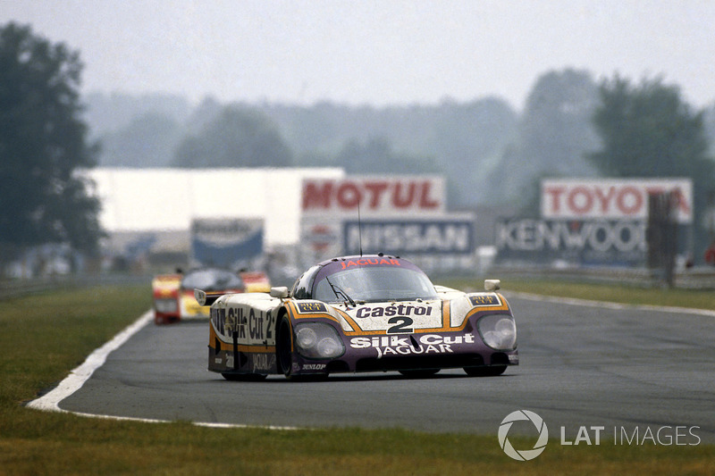 Jan Lammers, Johnny Dumfries, Andy Wallace, Jaguar XJR-9 LM