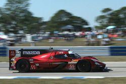 #55 Mazda Motorsports, Mazda DPi: Jonathan Bomarito, Tristan Nunez, Spencer Pigot