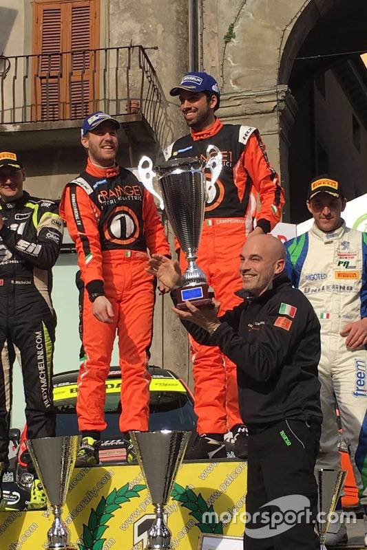 Simone Campedelli, Pietro Ometto, Armando Donazzan, Orange1 Racing