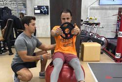 Felipe Massa entrena para la temporada