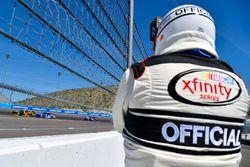 Brendan Gaughan, Richard Childress Racing Chevrolet and Elliott Sadler, JR Motorsports Chevrolet
