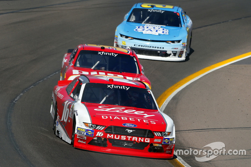 Ryan Reed, Roush Fenway Racing, Ford; Michael Annett, JR Motorsports, Chevrolet