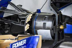Sauber C36: Vorderrad-Bremse