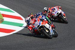 Andrea Dovizioso, Ducati Team, Maverick Viñales, Yamaha Factory Racing, Scott Redding, Pramac Racing