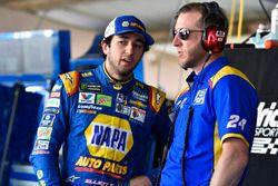 Chase Elliott, Hendrick Motorsports, Chevrolet, mit Crewchief Alan Gustafson