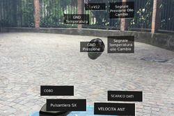 Visualisation de l'Aprilia RS-GP par réalité augmentée