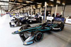 A Jaguar Formula E